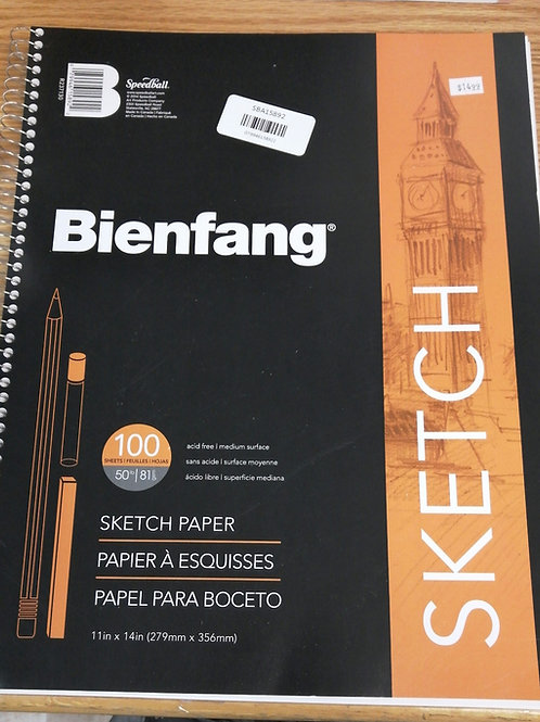 100 page sketchbook