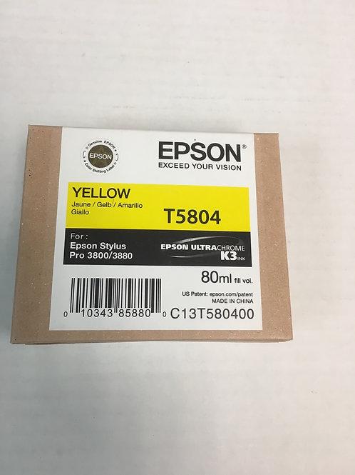 Epson T5804 Yellow