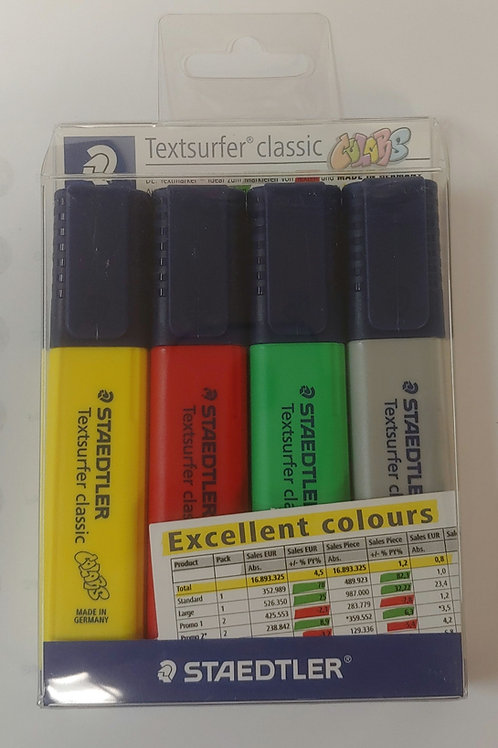 Staedtler Textsurfer Classic Highlighters
