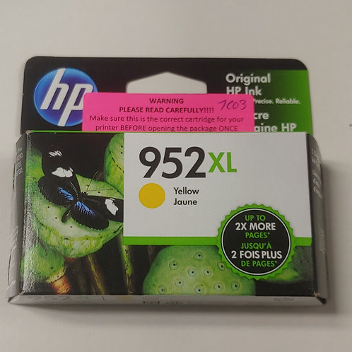 HP 952xl Yellow Ink