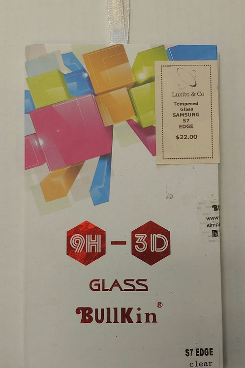 Samsung S7 Edge Tempered Glass Screen Protector