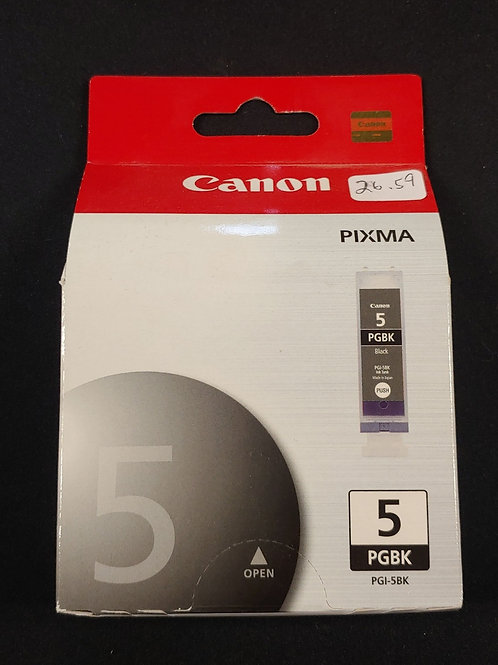 Canon Pixma 5 Black Ink