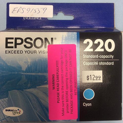 Epson 220 standard cyan ink