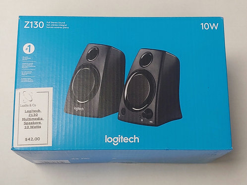 Logitech Z130 Multimedia Speakers 10 Watts