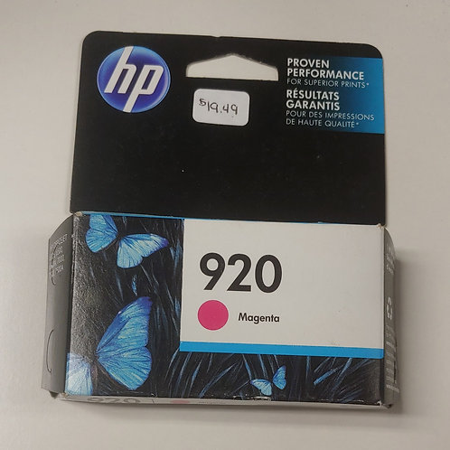 HP 920 Magenta Ink