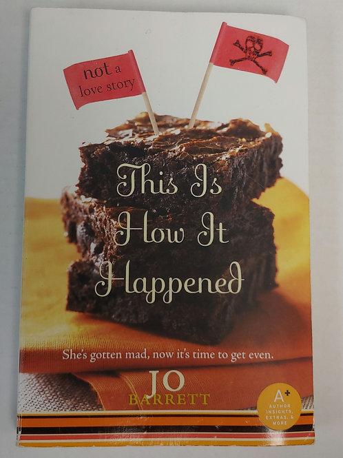 This is How it Happened-Jo Barrett