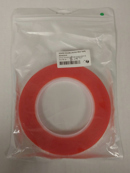 10mm Double Sided Red Tape Adhesive
