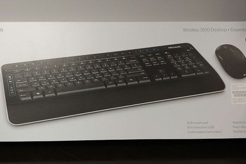 Microsoft 3050 Wireless Keyboard and Mouse
