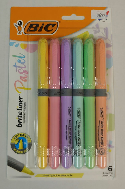 BIC Britliner Pastel Highlighter