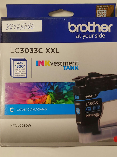 Brother LC3033C XXL Ink