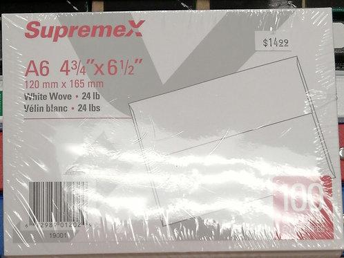 Supremex A6 envelopes