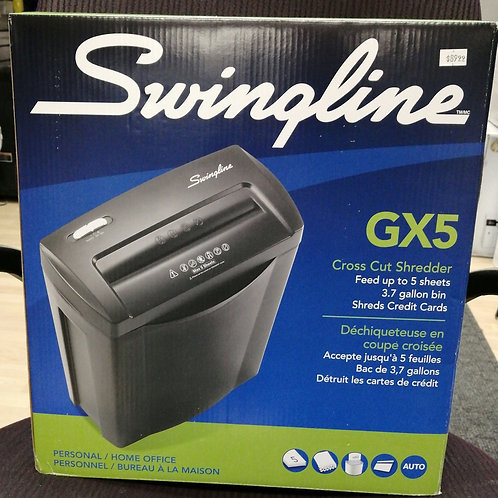 Swingline cross cut shredder