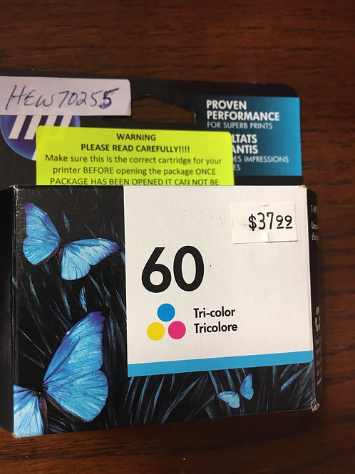 HP 60 Tricolor