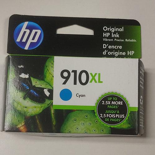 HP 910xl Cyan Ink