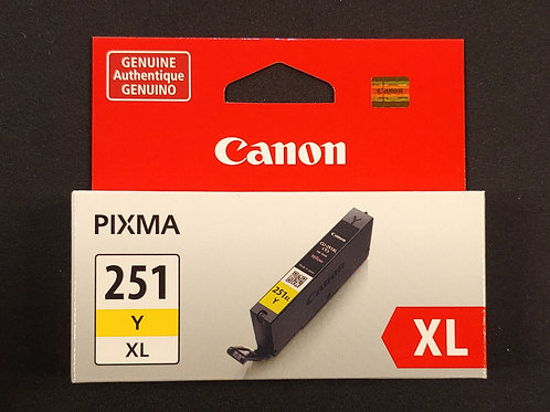 Canon Pixma 251xl Yellow Ink