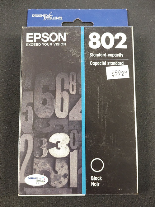 Epson 802 Black Ink