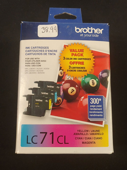 Brother LC71CL Ink