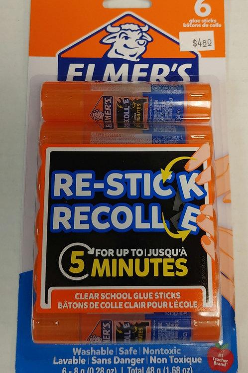 Elmer's Clear Washable Glue Sticks