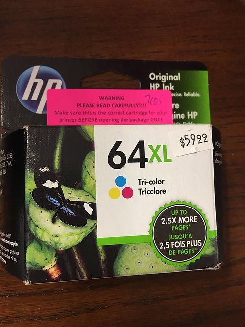 HP 64XL Tricolor