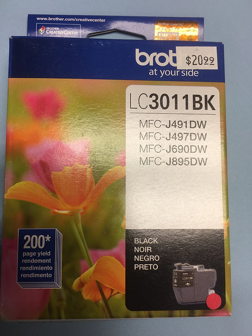 Brother LC3011BK
