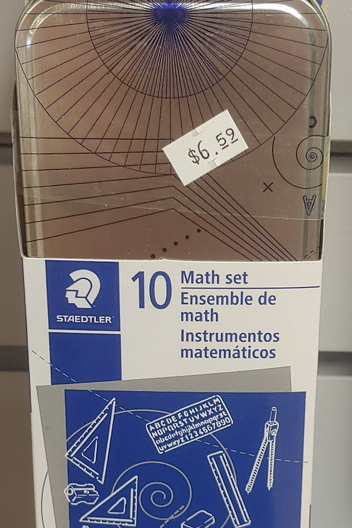 Staedtler 10 Piece Math Set