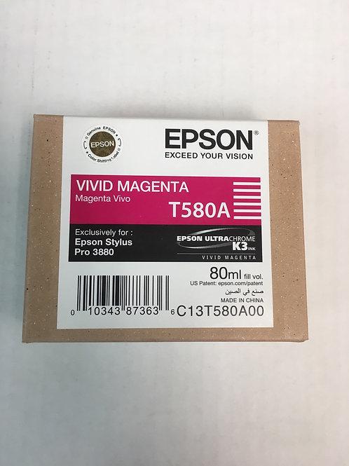 Epson T580A Vivid Magenta 80ml