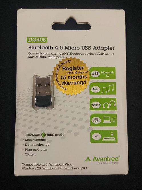 DG40S Bluetooth 4.0 Micro USB Adapter