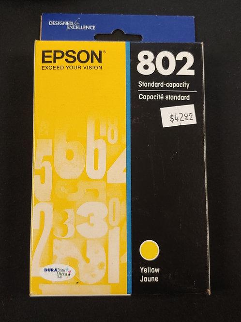 Epson 802 Yellow Ink