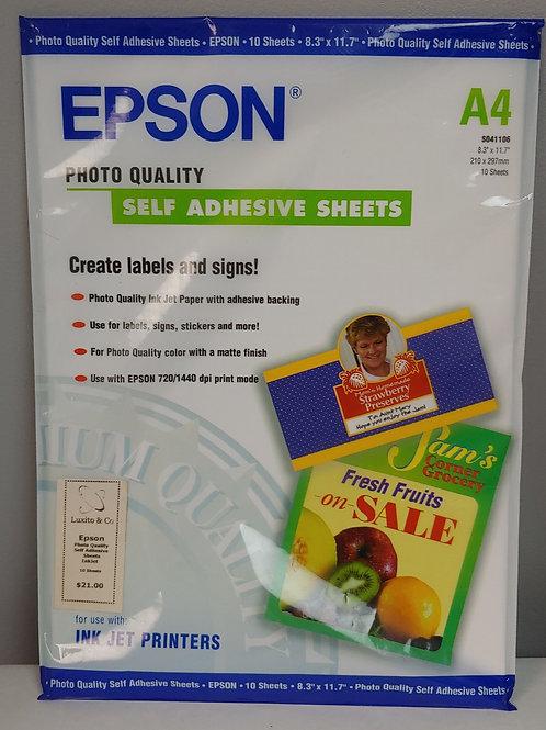 Epson 10 Self Adhesive Sheets