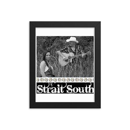 Strait South Framed Poster