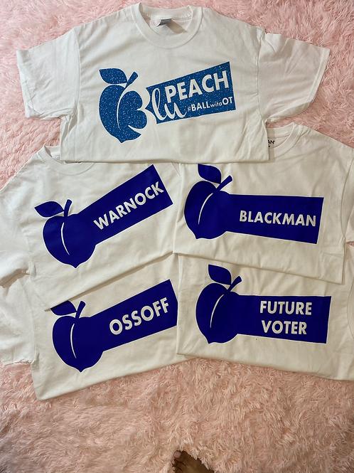 Blu Peach T-Shirts