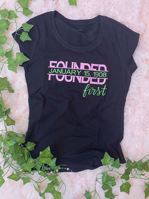 Founded First T Shirt