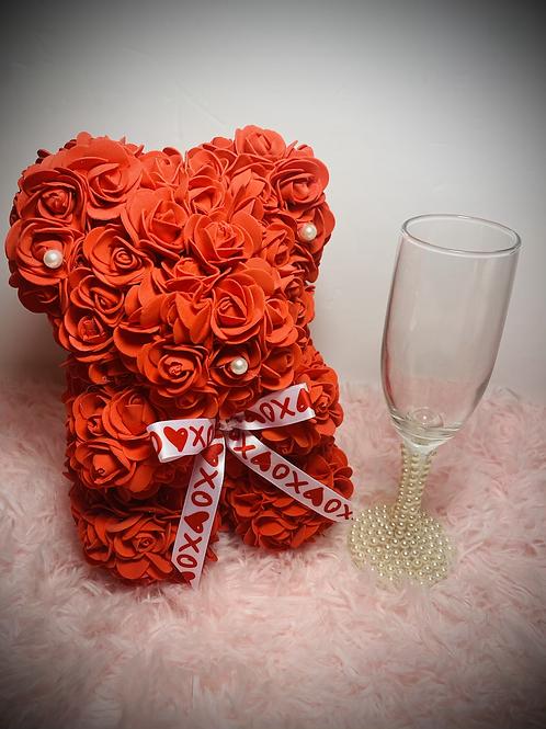 Valentine's Pre-Sale Red Rose Bear