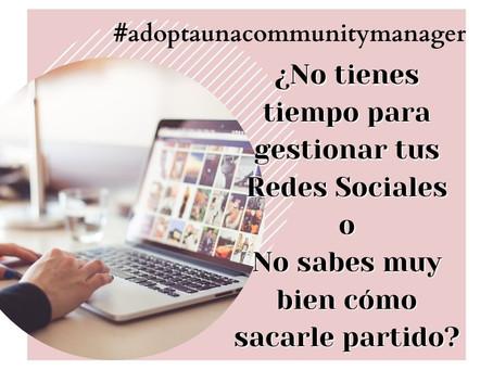 #Adopta un Community Manager