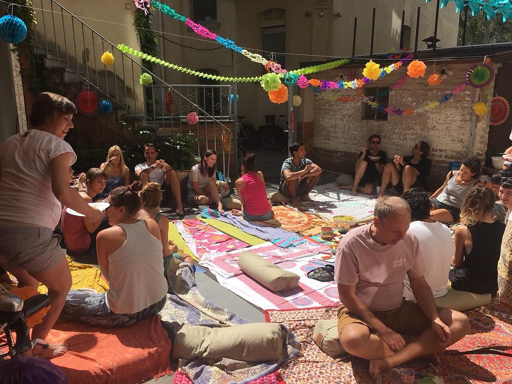 Sommerfest im Yogaladen Offenbach, Frankfurt, Yoga