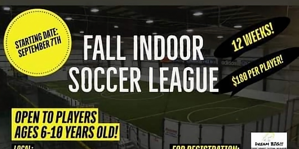 Fall Season - Indoor Soccer