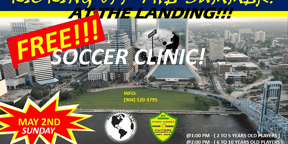 FREE SOCCER CLINIC AT THE LANDING