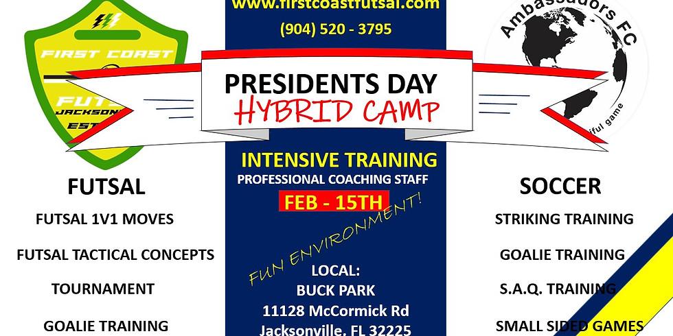 PRESIDENT'S DAY HYBRID CAMP