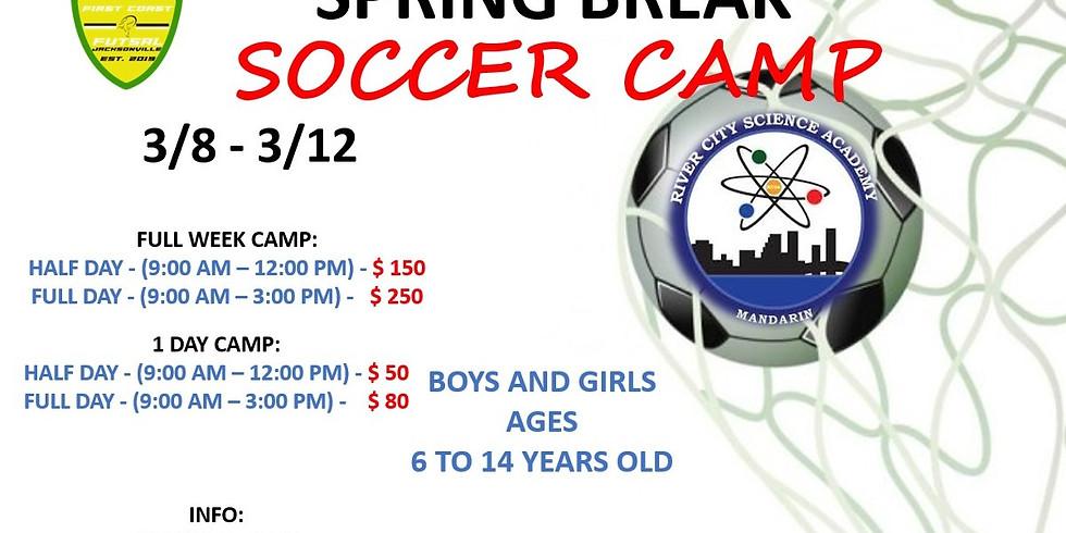 RCSA Soccer Camp - Spring Break
