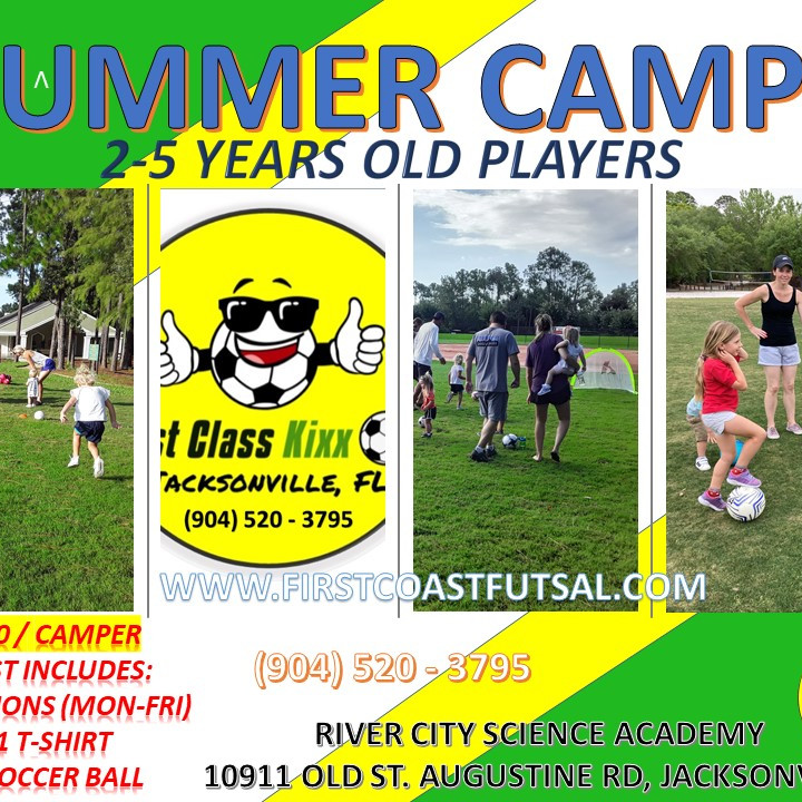 SUMMER CAMP - (2-5 YEARS OLD PLAYERS)
