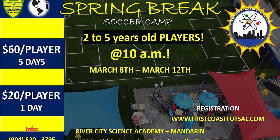 SPRING BREAK MANDARIN 2 TO 5 YEARS OLD PLAYERS
