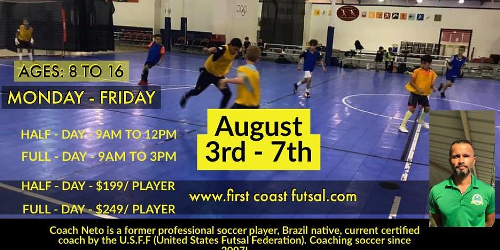 Futsal Summer Camp St Augustine