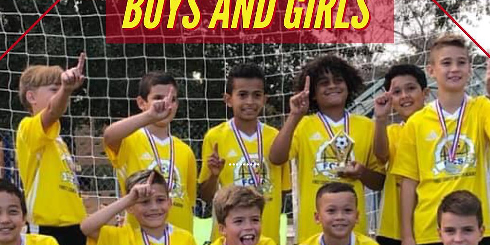 Soccer Tryouts Boys and Girls ( 2012 - 2011 )
