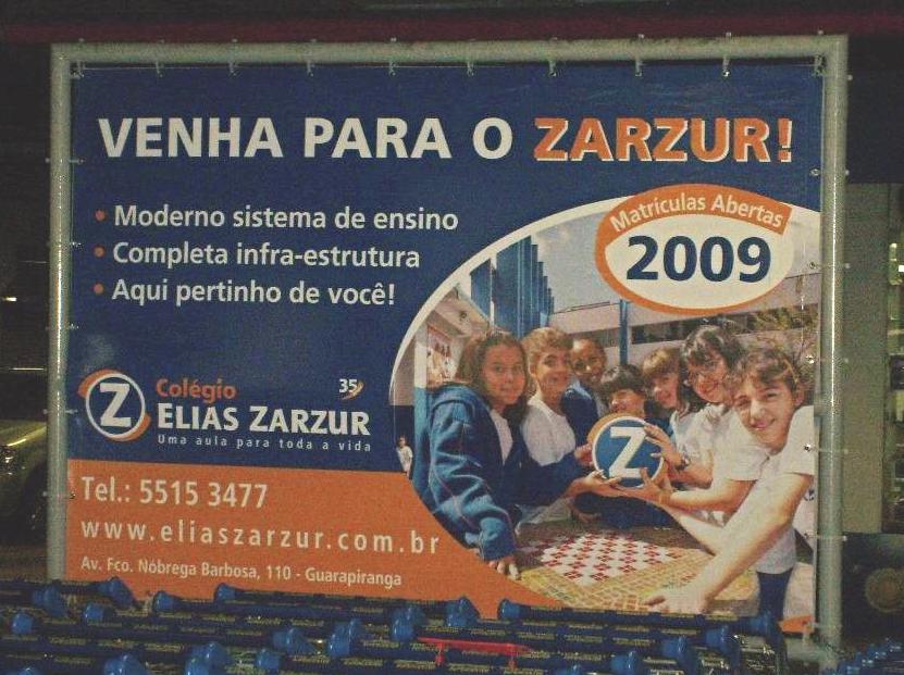 Ação Colégio Elias Zazur