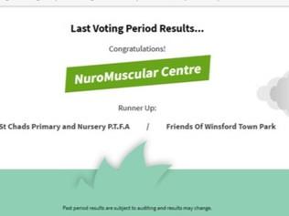 WE DID IT!! Asda Green Token Giving