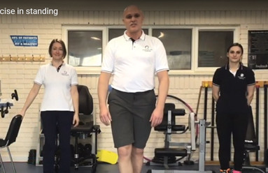 NMC Therapies Leg Exercise In Standing