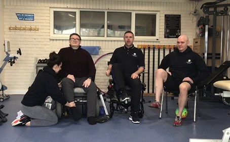 NMC Therapies Leg Exercises In Sitting