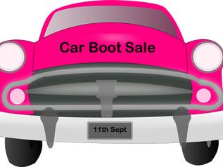 Car Boot Sale - 11th September
