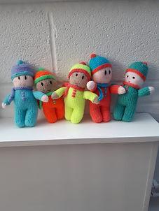 Beanie Hat Dolls
