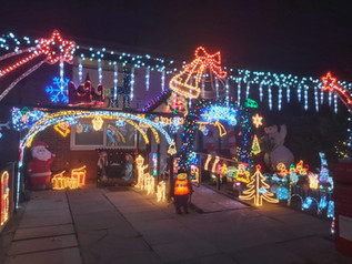 Fantastic Display of Christmas Lights